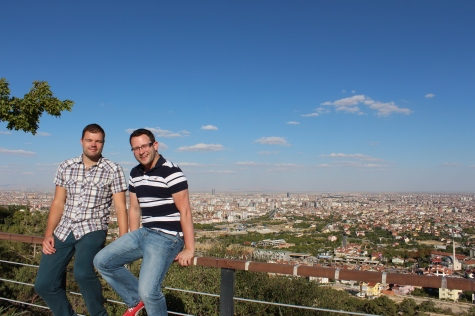 Me and Ryan with Konya in Background