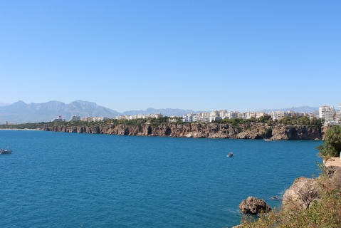 View of Antalya Bay from the City