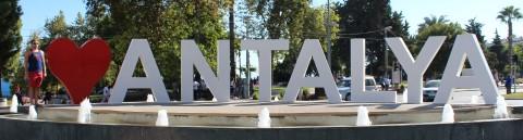 I heart Antalya Sign