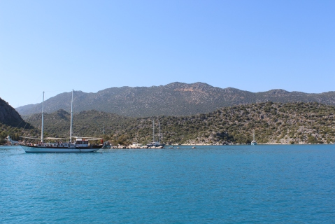 Stunning Vistas Over the Mediterranean Sea