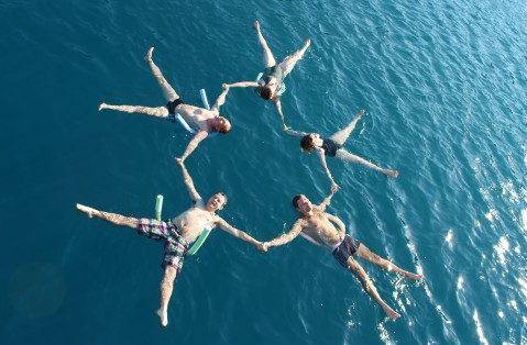 Some of Us, Floating in the Mediterranean Sea