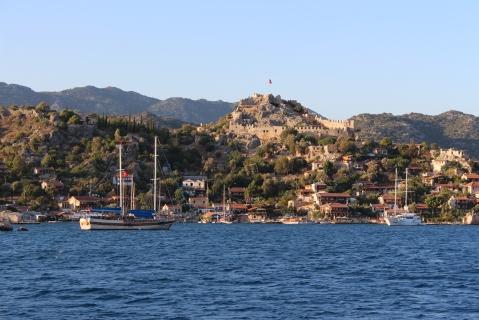 Simena Castle Above Kaleköy Village