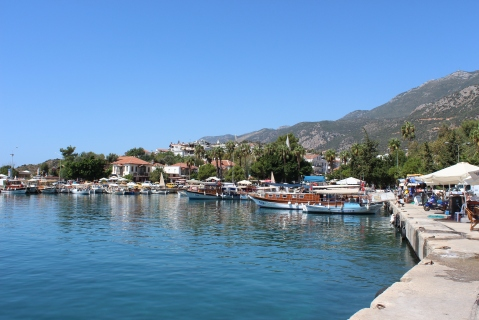 Sea-side Walk Along the Harbour in Kaş