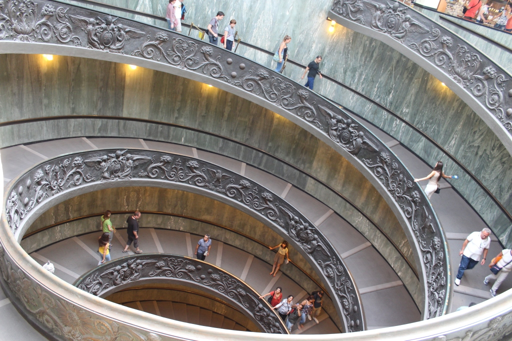 The Bramante Staircase, Vatican Museums