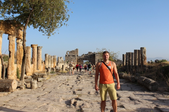 Me at Hierapolis, Sept 2013