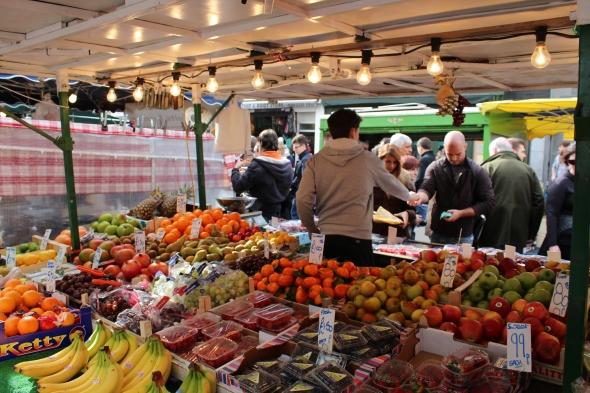 Portobello Market Stall