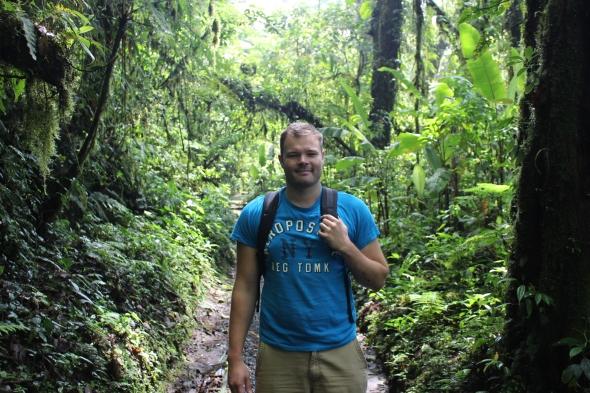 Me in Monteverde, Costa Rica