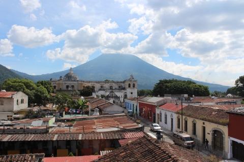 Antigua & Volcan de Agua, Guatemala