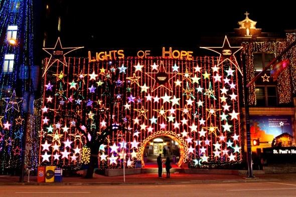Lights of Hope at St. Paul's Hospital, December 2015