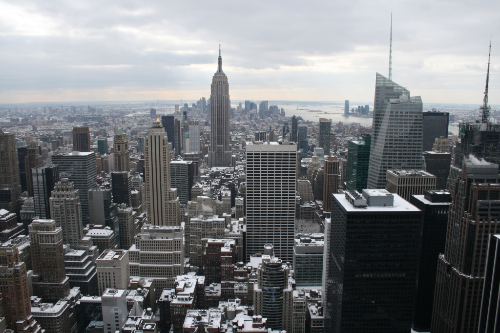 View from Top of the Rock, January 2011