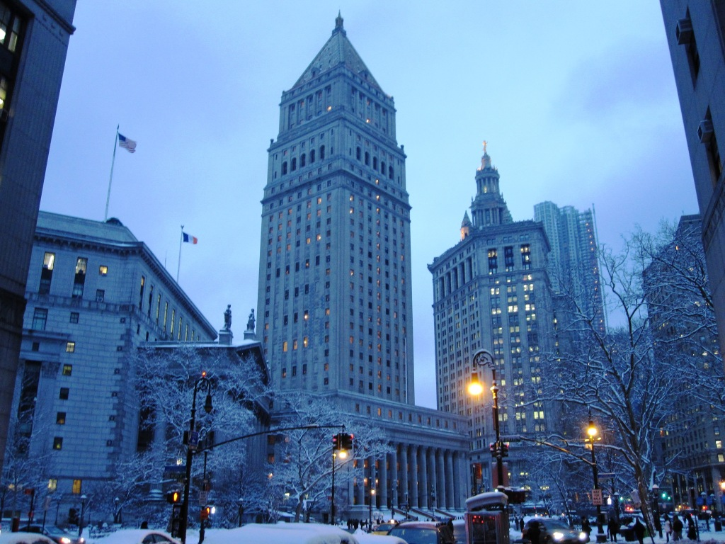New York Courthouse in Lower Manhattan