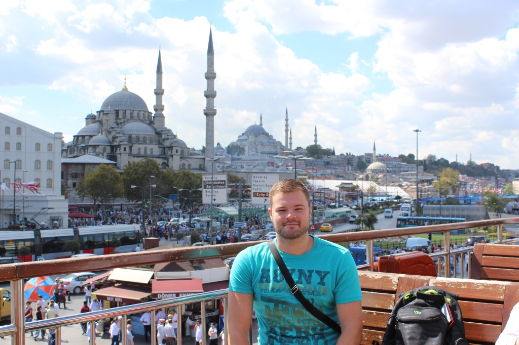 Me in Istanbul - September 2013
