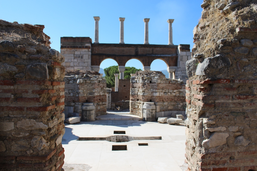 Remains of Basilica of St John the Apostle