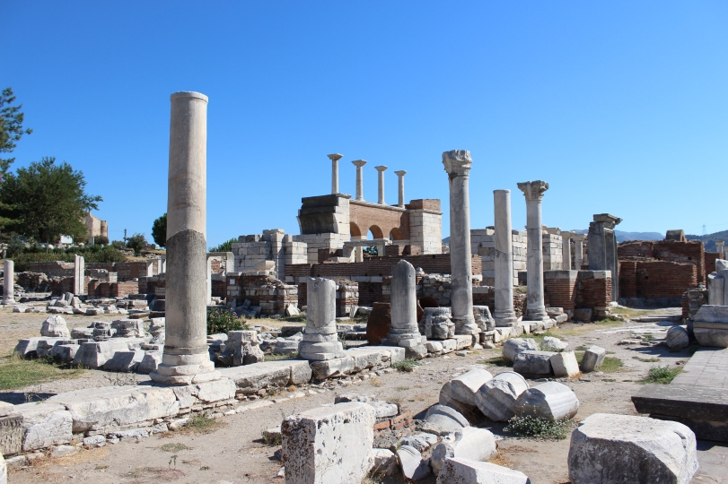 Remains of the Basilica of St John the Apostle