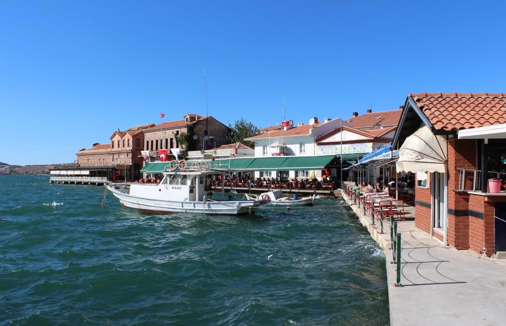 Ayvalık's cafe-filled harbour