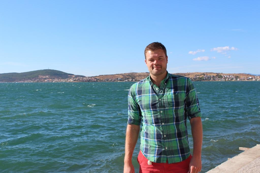 Me in Ayvalık, September 2013