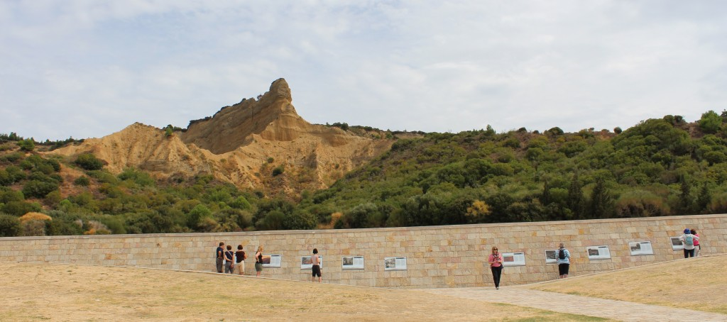 "The Gallipoli Memorial & the ""Sphinx"" Rock Formation"