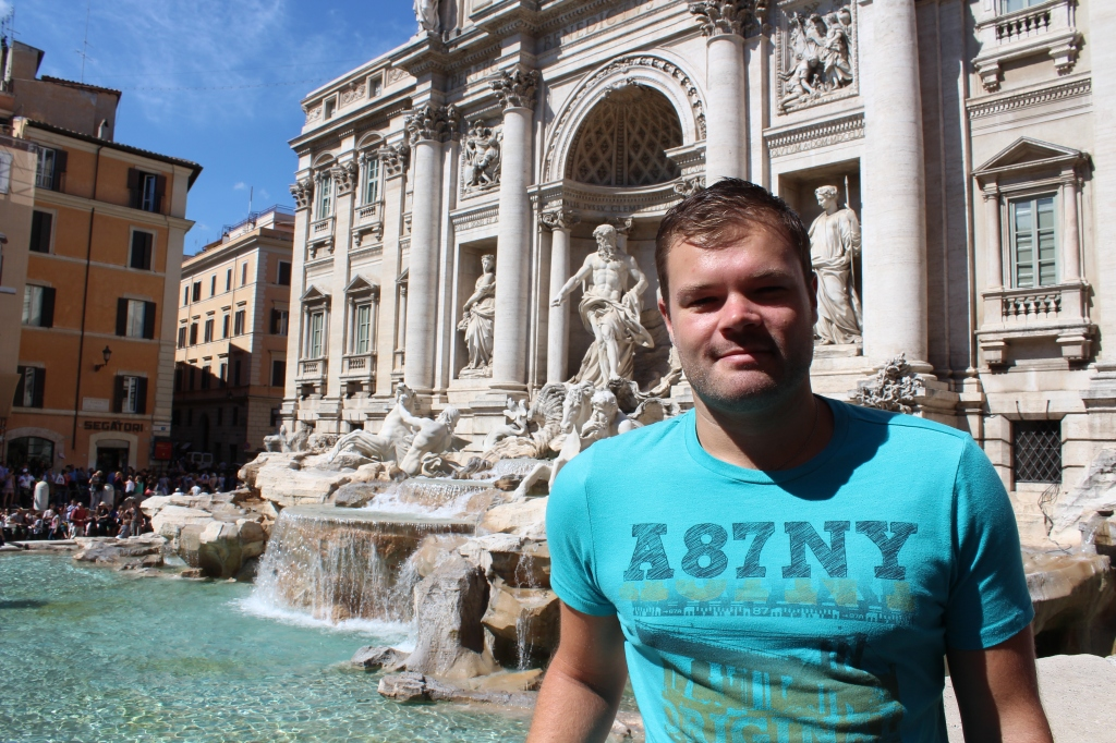 Me by the Trevi Fountain - September 2013