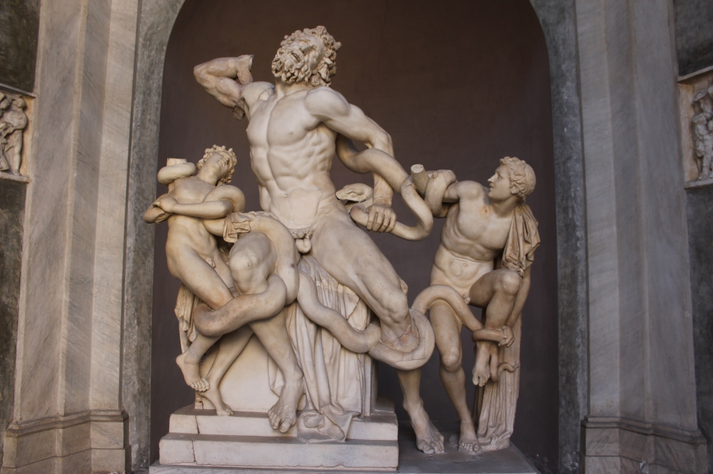 """Laocoön and His Sons"" Statue (65 AD)"