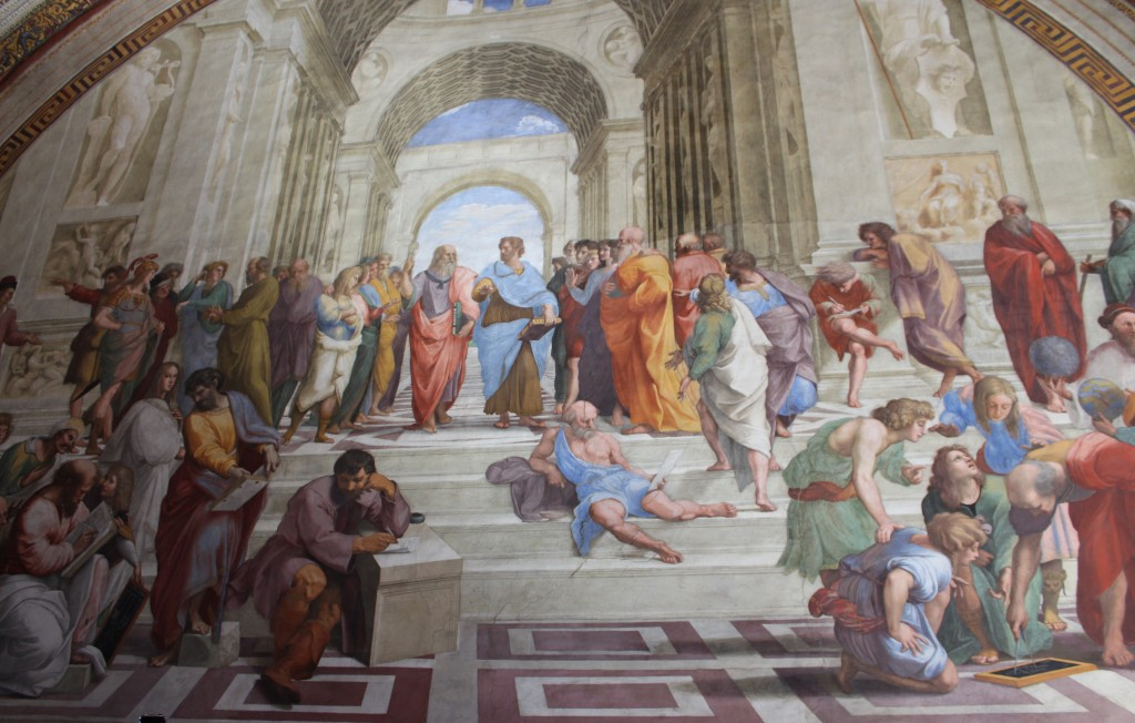 Raphael's 'School of Athens' Mural