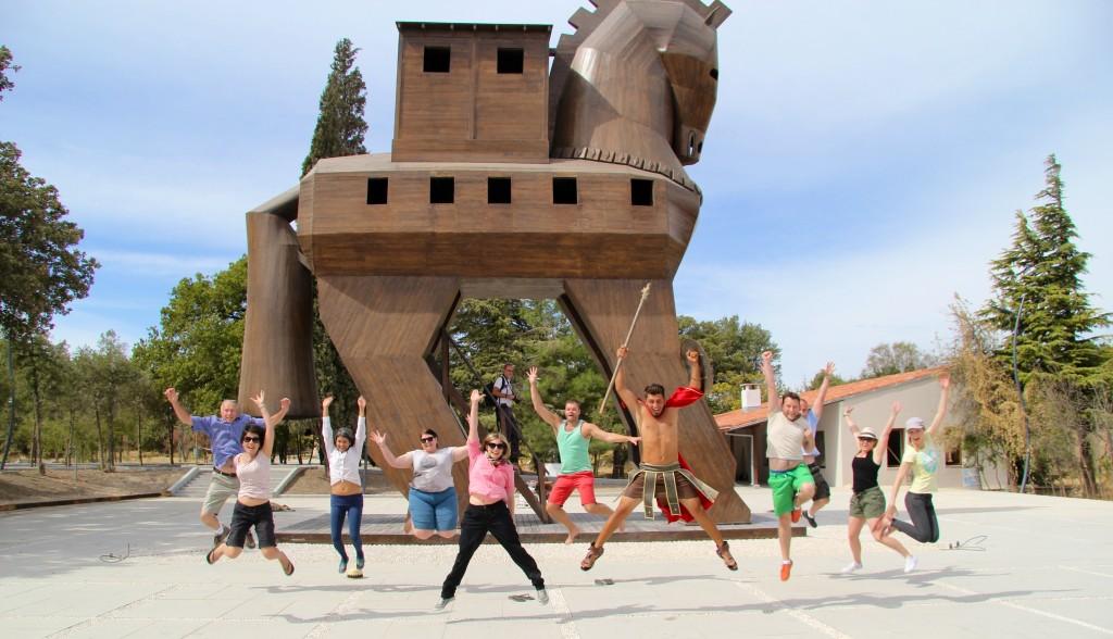 The Trojan Jump