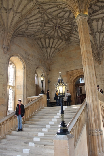 Staircase in Christ Church