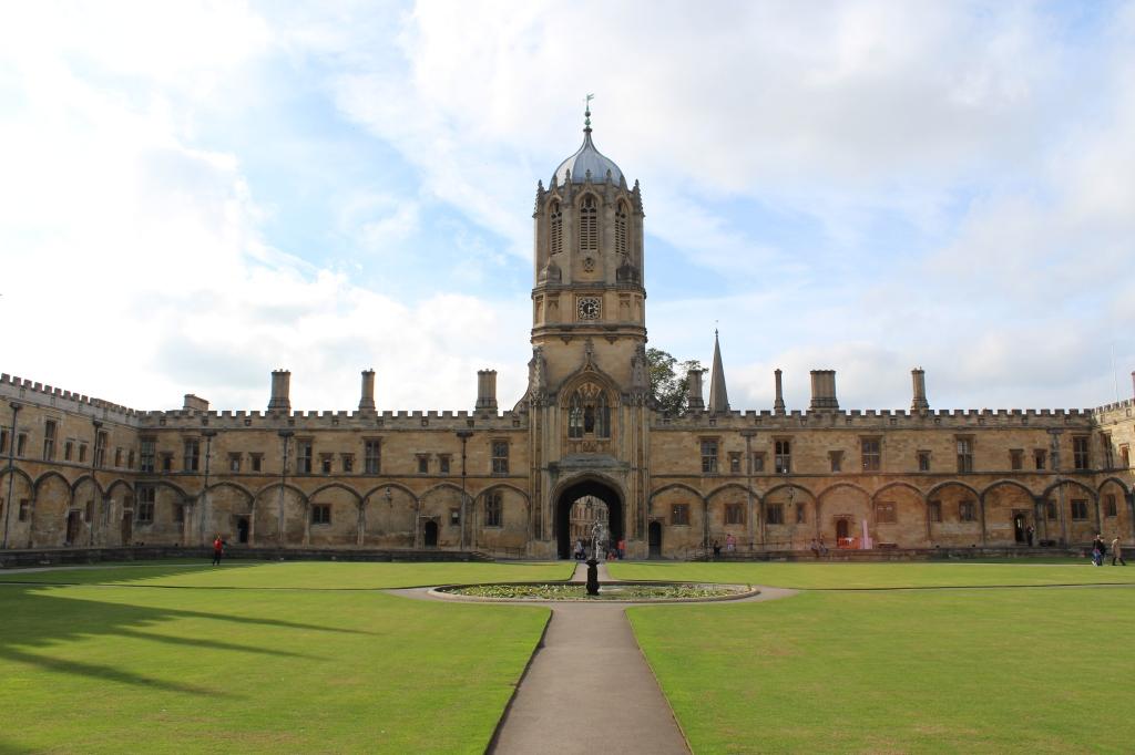 The Great Quadrangle (Tom Quad) - Christ Church, Oxford