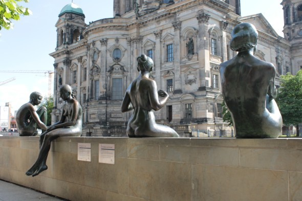 Statues of Women Berlin